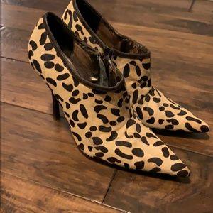 Town Shoes Leopard Heels